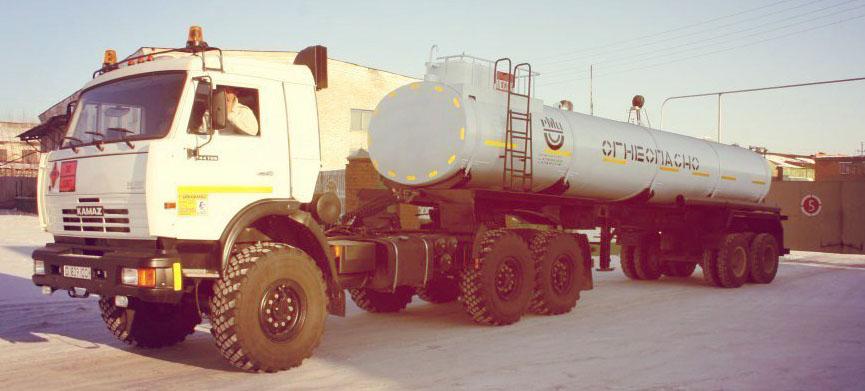 Изготовление нефтевоз, автоцистерна