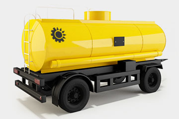 Автоцистерна, перевозка нефти Костанай