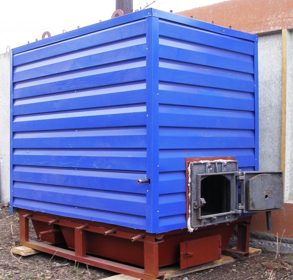 Производство Водогрейные котлы КВМ на твердом топливе
